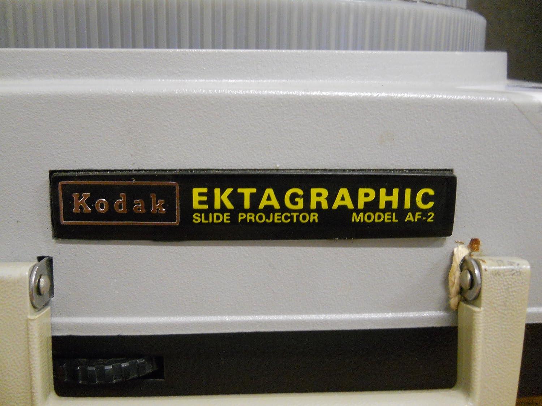 Kodak Ektagraphic AF-2 Proyector deslizante de enfoque automático ...