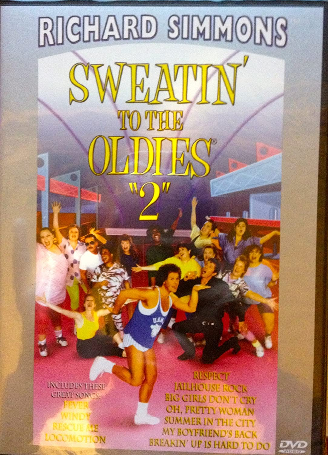 richard simmons sweatin to the oldies vhs. richard simmons sweatin to the oldies vhs