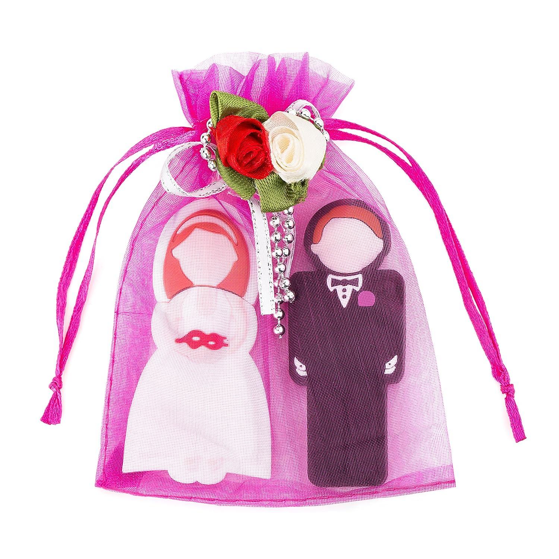 Enfain Pair of Bride and Groom Key Shape USB Flash: Amazon.co.uk ...