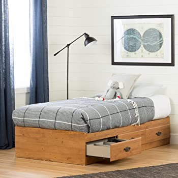 1.South Shore Prairie Platform Bed Collection with Storage