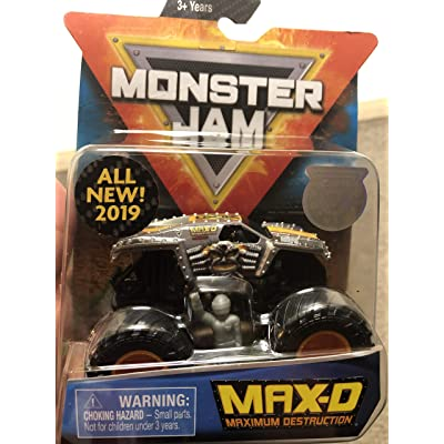 Monster Jam Max-D: Toys & Games