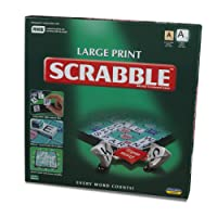 Scrabble Large Print Edition Board Game