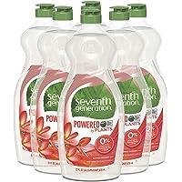 Seventh Generation Dish Liquid Soap, Summer Orchard Scent, 22 Fl Oz (Pack of 6)