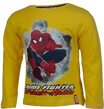 Jungen T-Shirt Marwel Ultimate Spider-Man Große 98-128 Baumwolle