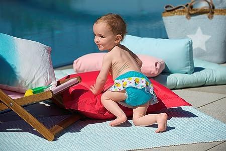 494354240 Sterntaler bebé niña de natación Rock con Uso pañales pañal Bañador 2501843  Talla 98 104  Amazon.es  Bebé