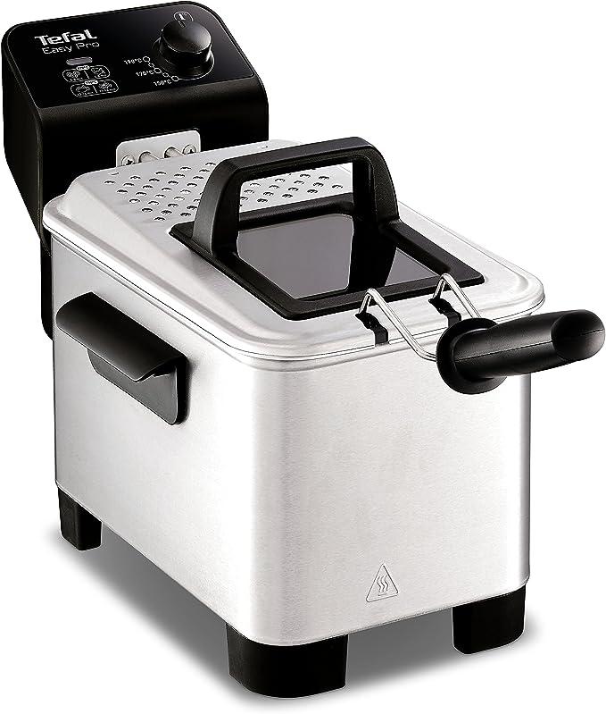 Tefal FR333040 Easy Pro Semi Professional Stainless Steel Deep Fat Fryer, 1.2 kg, 2200 W by Tefal: Amazon.es: Hogar
