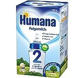 Humana Folgemilch 2 mit GOS, 1er Pack (1 x 700 g)