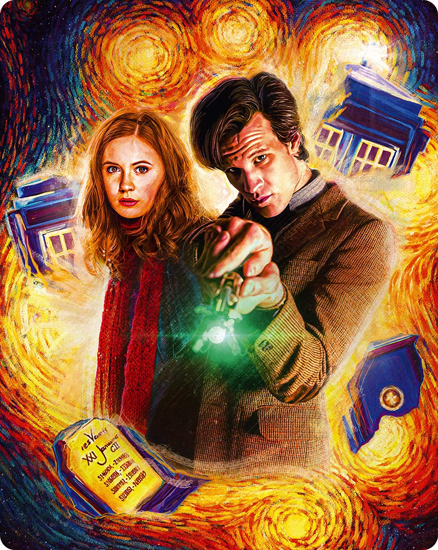 Doctor Who Complete Series 5 Steelbook Edizione: Regno Unito Italia Blu-ray: Amazon.es: Cine y Series TV