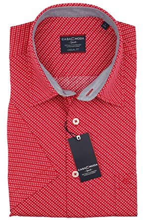 969f4bac7b Casa Moda - Casual Fit - Herren Freizeit 1/2-Arm-Hemd in verschiedenen  Farben mit Kent-Kragen (983079100): Amazon.de: Bekleidung