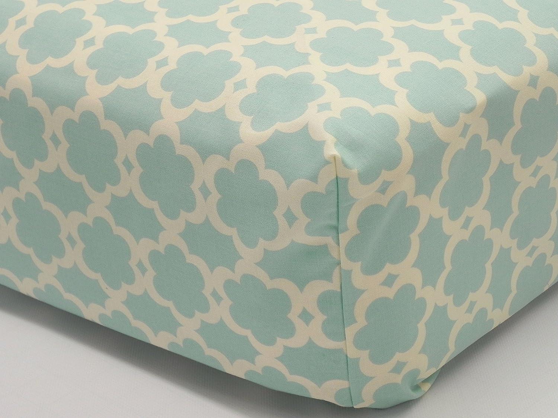 Crib Sheet - Kumari Garden Tarika Blue