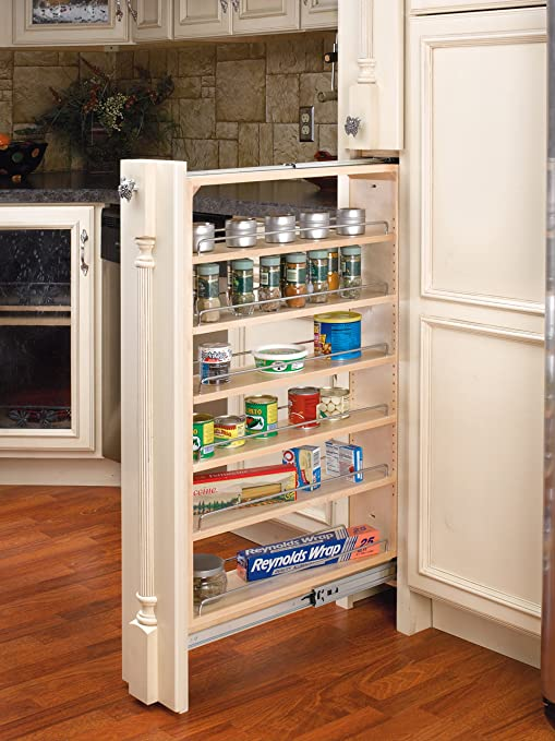 Amazon.com - Rev-A-Shelf 6 in Tall Filler Organizer Pullout ...
