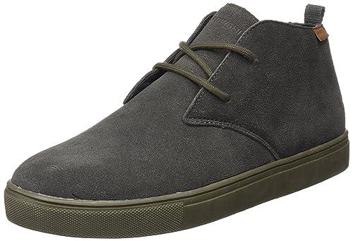 a6cc4241 Springfield Botín Desert En Serraje Gris Monocolor, Botas Clasicas para  Hombre, (Grey), 42 EU: Amazon.es: Zapatos y complementos