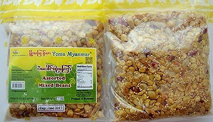 packaged myanmar tea