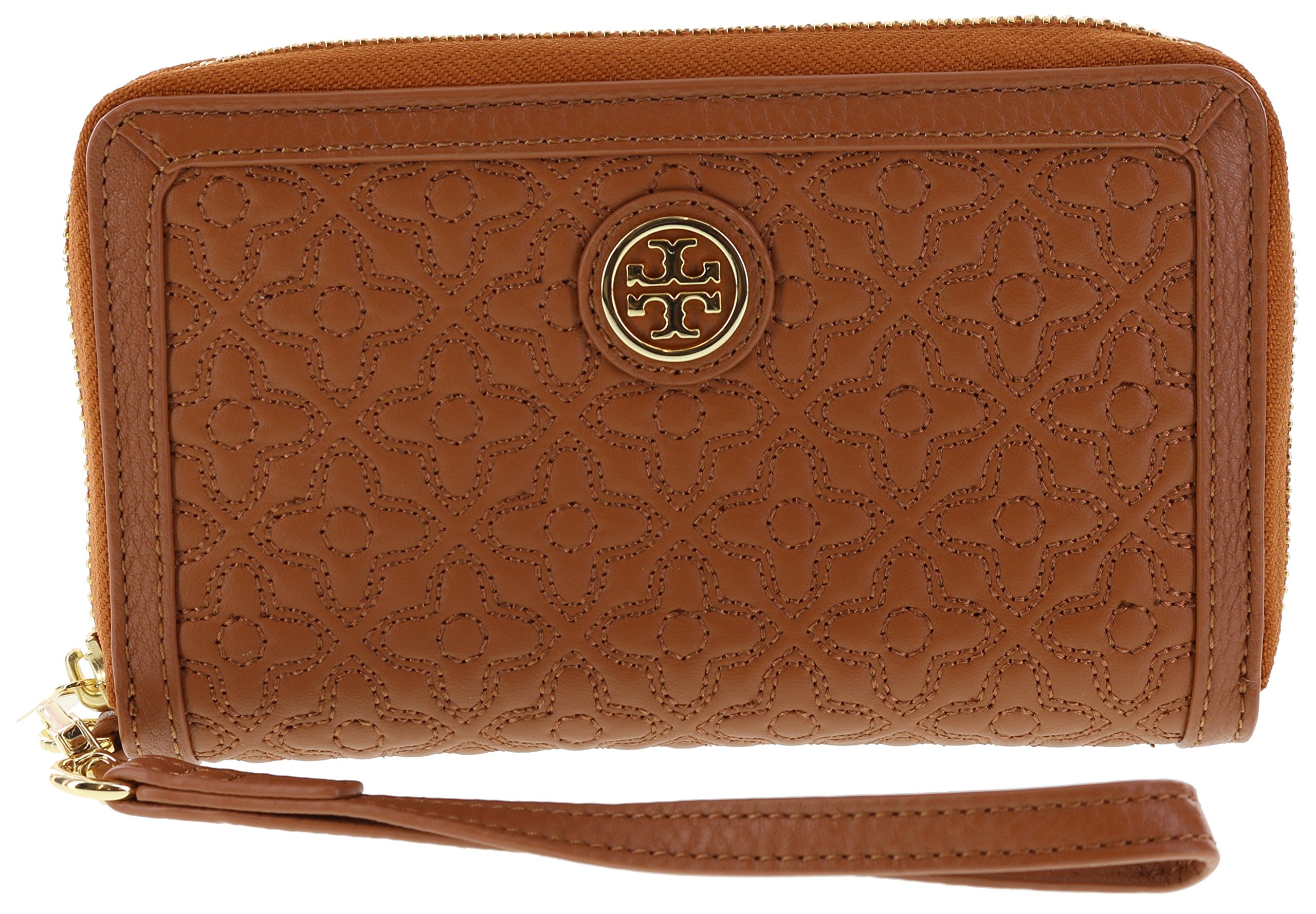 Tory Burch Bryant Smartphone Wristlet Wallet, Style No 34030 (Luggage)