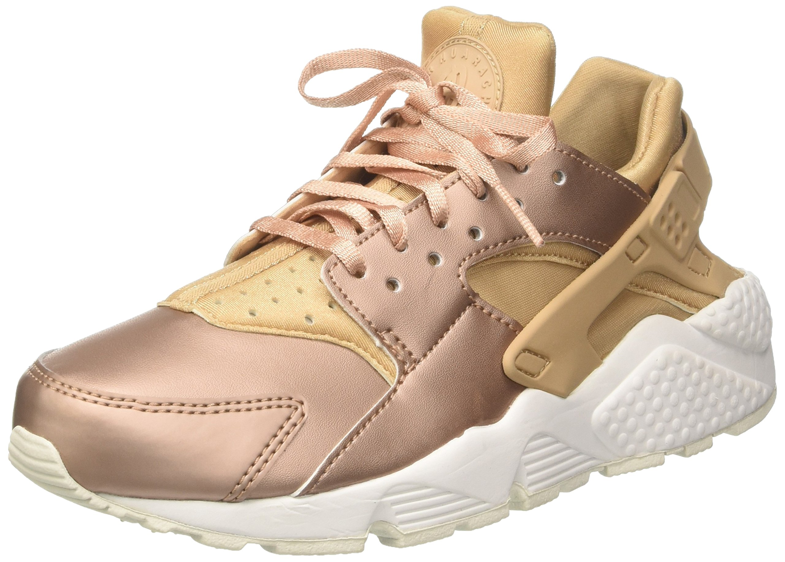 Nike Air Huarache Run Pemium TXT Womens Shoes Elm/Metallic Red Bronze aa0523-200 (8.5 B(M) US)