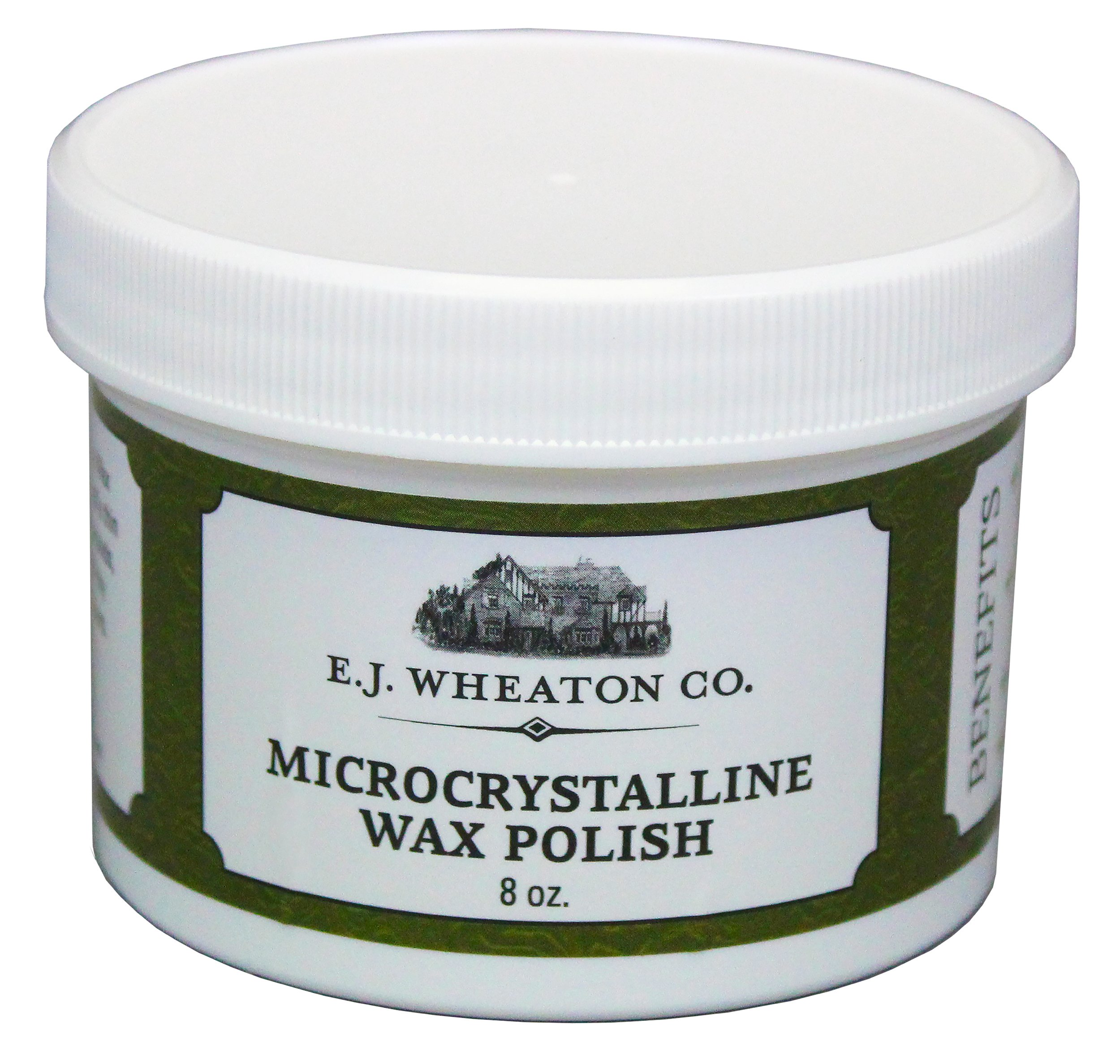 E.J. Wheaton Co. Microcrystalline Wax Polish, Preserves and Protects Metal, Leather and Wood Surfaces, Made in USA (8 oz.) by E.J. WHEATON CO.