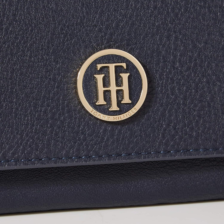 Tommy Hilfiger Womens Sm Lrg Za W//Flap Cross-Body Bag