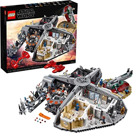 Amazon Com Lego Star Wars The Empire Strikes Back Betrayal At Cloud City 75222 Building Kit 2 812 Pieces Toys Games