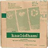 KAAGIDHAM - Bin Liners/Multipurpose Takeaway Bags - 1 Pack (15 Pieces)