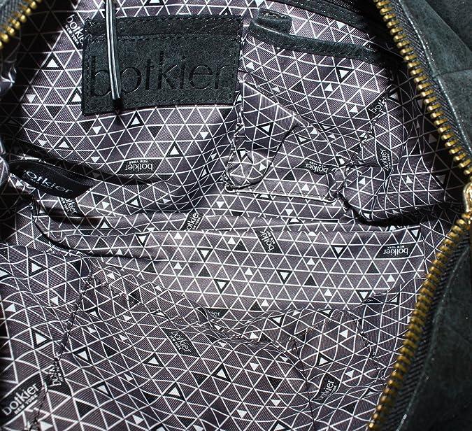 Amazon.com  Botkier Women s Trigger Small Satchel Black Satchel  Shoes a4eb86f95297a