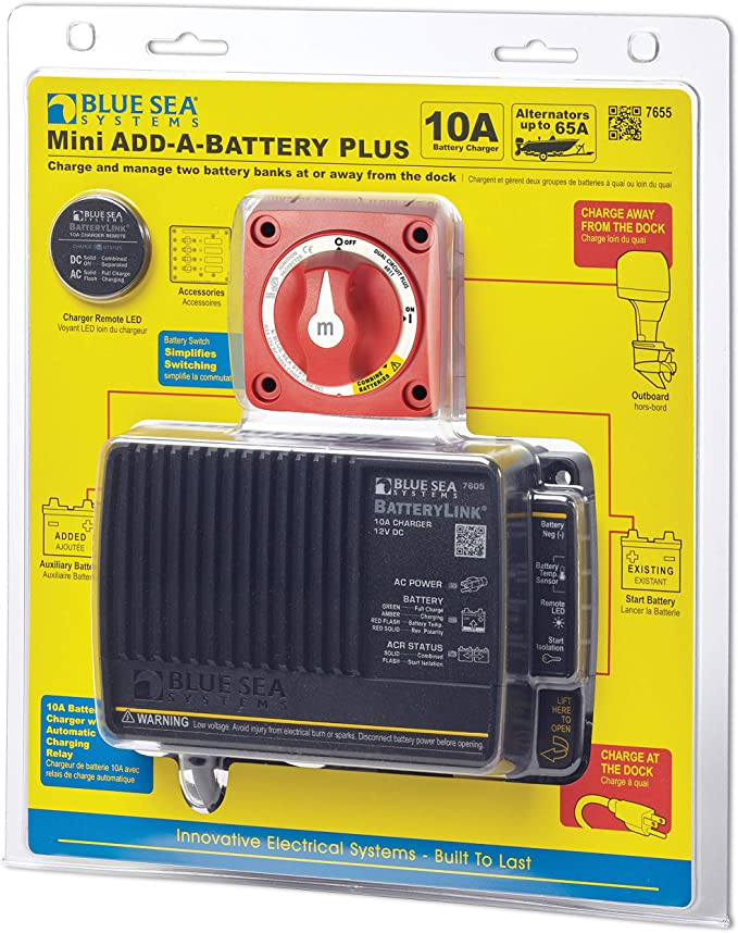 Blue Sea Systems Add A Battery Kit