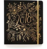 Rifle Paper Co 17 Month Agenda 2018 (Planner) (Large, Floral Foil)