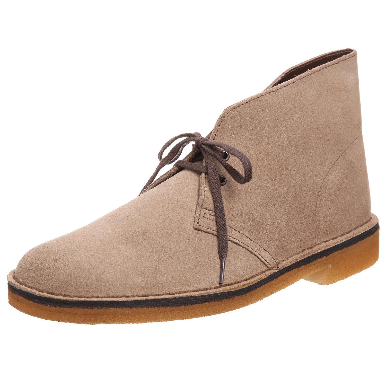 Clarks Desert Boot 00111 Herren Desert Stiefel Grau (Wolf)