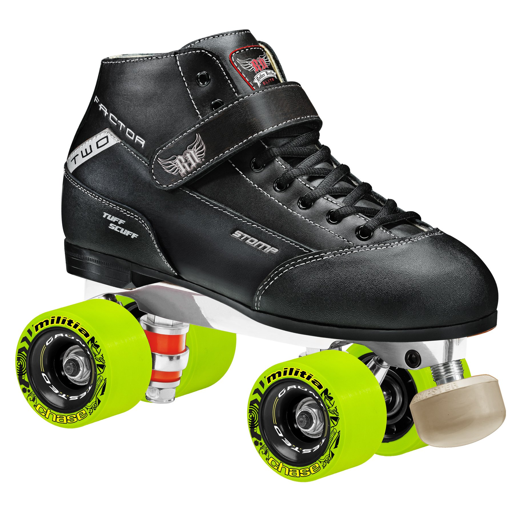 Stomp Factor-2 Derby Skates Size 05 by Roller Derby