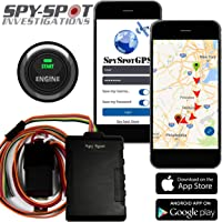 4G Hard Wire Kill Switch GPS Vehicle Tracker   Disable Any Vehicle Ignition - Remote Starter   Advance Satellite Real Time Fleet Tracking / Teen Driver Monitoring Alerts by Spy Spot