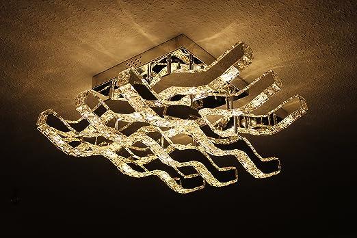 Kronleuchter Deckenleuchte Set : Led design kristall dimmbar mit fernbedienung kronleuchter