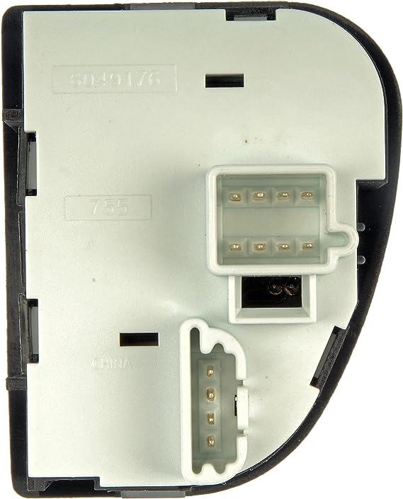 DAT 13-15 HONDA ACCORD 4DR SEDAN MODELS BLACK FOG LAMP BEZEL RIGHT PASSENGER SIDE HO1039111 DAT AUTO PARTS