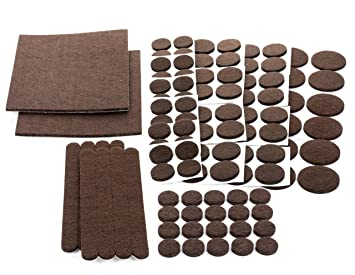Awesome Floor Effects Felt Pads, Heavy Duty Adhesive Furniture Pads   Floor  Protector For Tiled,