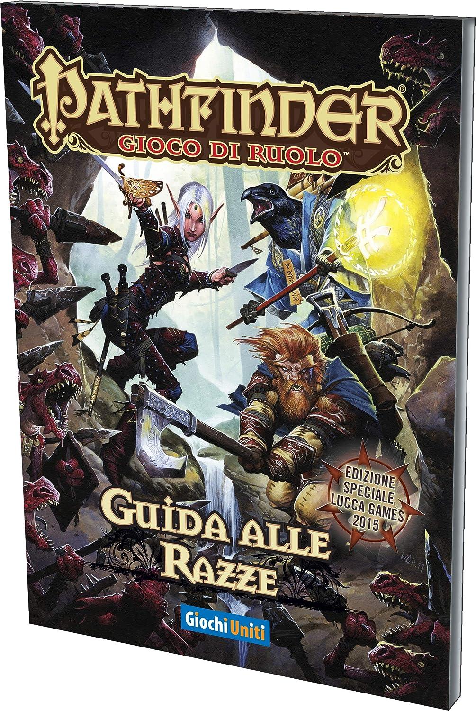 Giochi Uniti Pathfinder - Juego de Mesa Guida Alle Razze (Guía de Las Razas) Multicolor