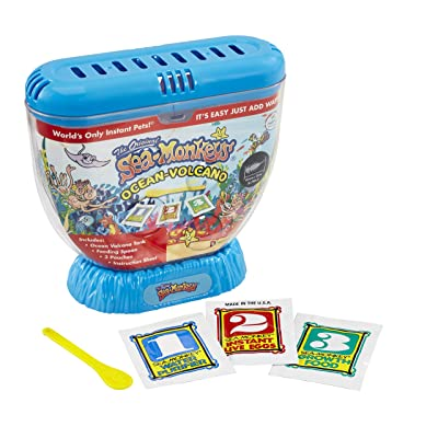 Sea Monkeys 80483 Volcano Zoo: Toys & Games