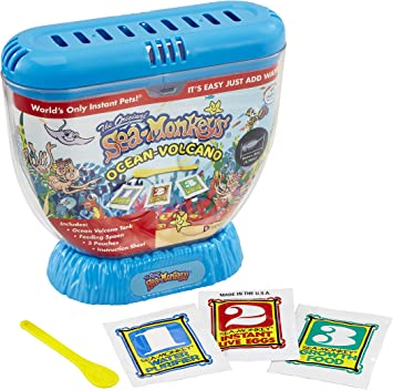 Sea Monkeys Zoo Zoológico del Volcán, Color sí. (Dragon-i 80483): Amazon.es: Juguetes y juegos