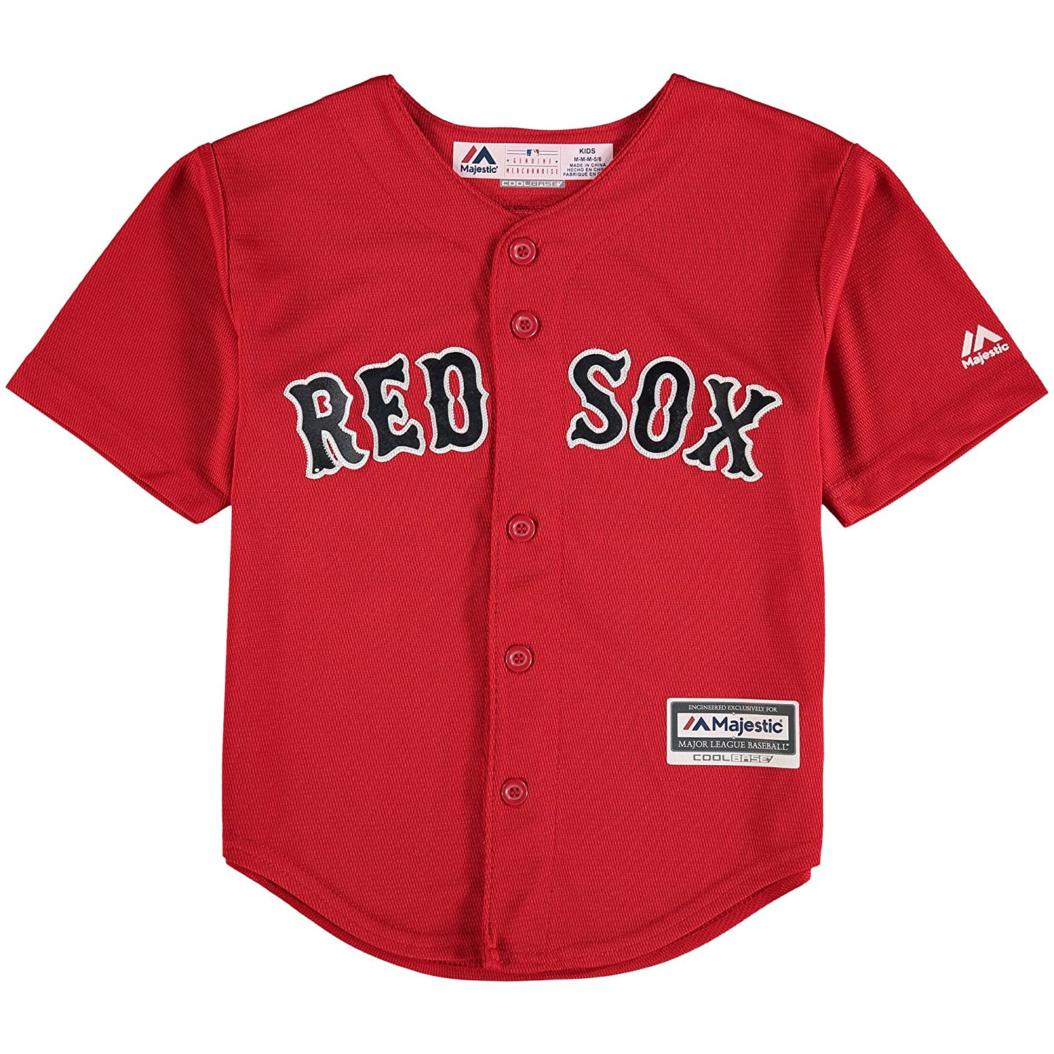 timeless design 56049 26961 Outerstuff Mookie Betts Boston Red Sox #50 Kids 4-7 Cool Base Alternate  Jersey Red