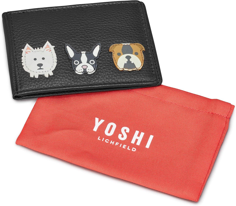 Yoshi Applicateur pour Chien avec Passeport en Cuir Beige Frappe