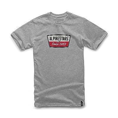 Alpinestars Men's Modern Fit Short Sleeves 146 GSM Motorsports Heritage T-Shirt: Clothing