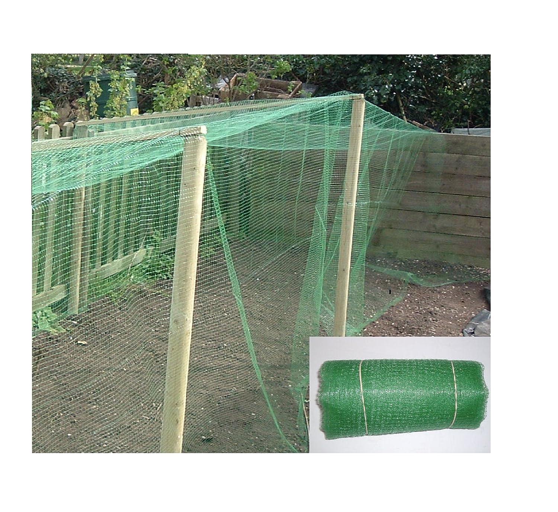 10m x 4m filet pour jardin–Robuste En Maille Fine (10mm)–polypropolene: Crop Protection et légumes fruits, cages, bassin Protection, de nombreux autres usage