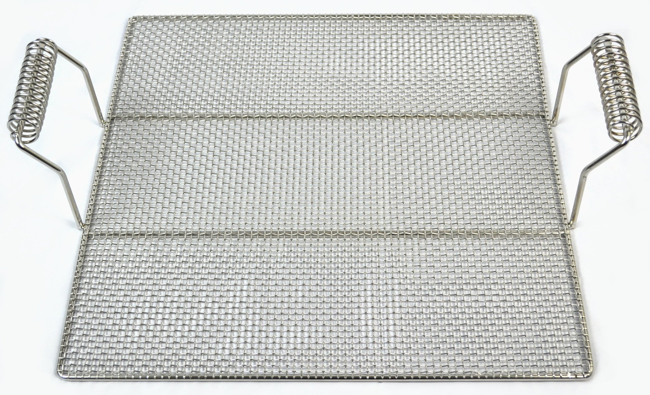 Pitco Stainless Steel Donut Screen with Handles, 19'' x 19'' (2)