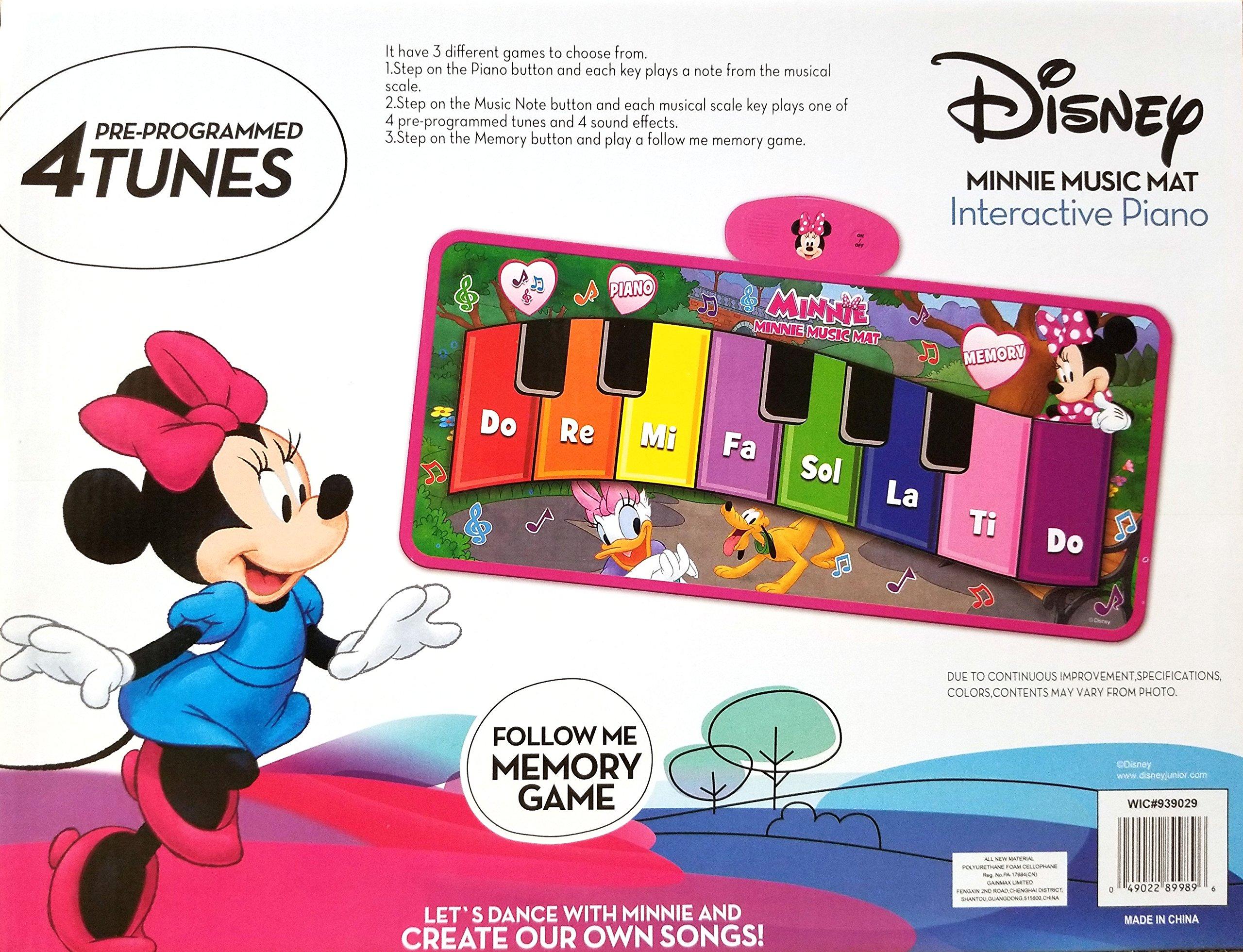 Disney Junior Minnie Music Mat by Disney (Image #3)