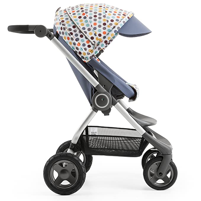 Stokke Scoot Stroller Style Kit - Style your stroller in retro cool - Comes with matching shopping tote - Retro Dots by Stokke: Amazon.es: Bebé