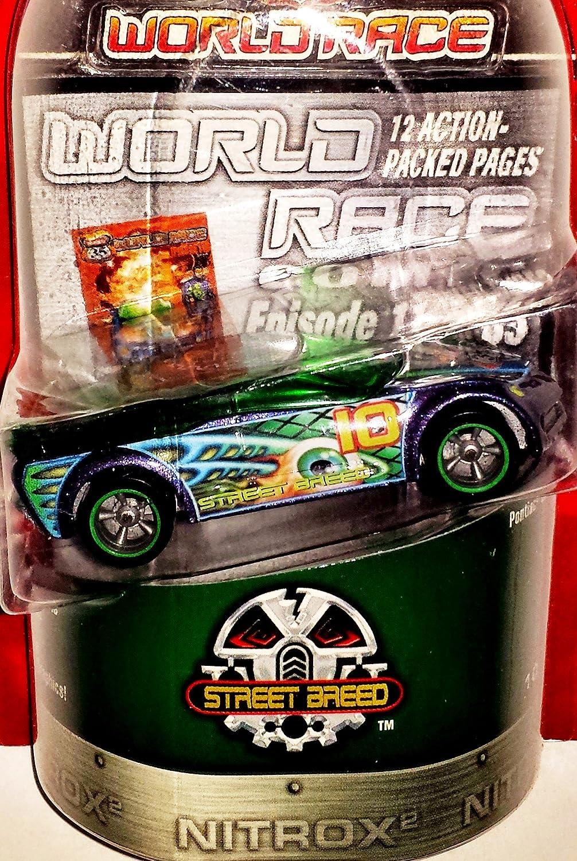 Amazon.com: Hot Wheels Highway 35 World Race Street Breed Pontiac Rageous 10/35: Toys & Games