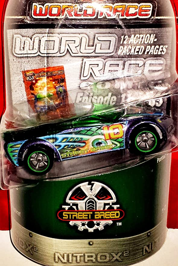 Amazon.com: Hot Wheels Highway 35 World Race Street Breed Pontiac Rageous 10/35: Toys & Games