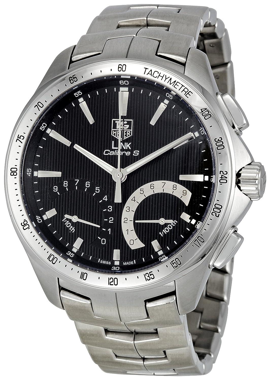 Tag Heuer Men's CAT7010.BA0952 Link Calibre S Black Dial Dress Watch
