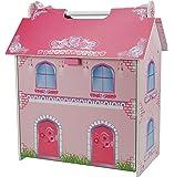 A B Gee Tx1092Petite maison de poupées en bois avec meubles