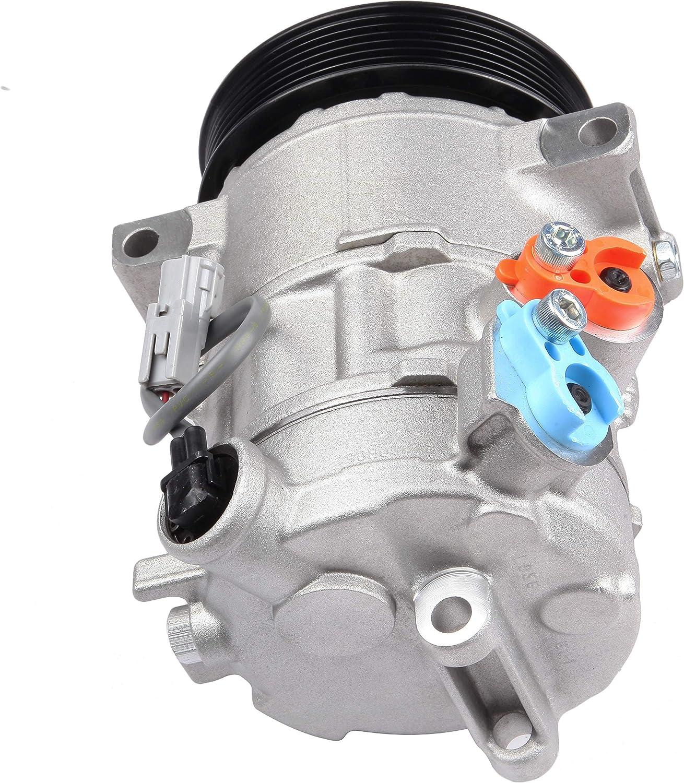 Ineedup AC Compressor and A//C Clutch for 09-16 Dodge Caliber Jeep Compass Jeep Patriot 2.4L 1.8L 2.0L CO 30011C