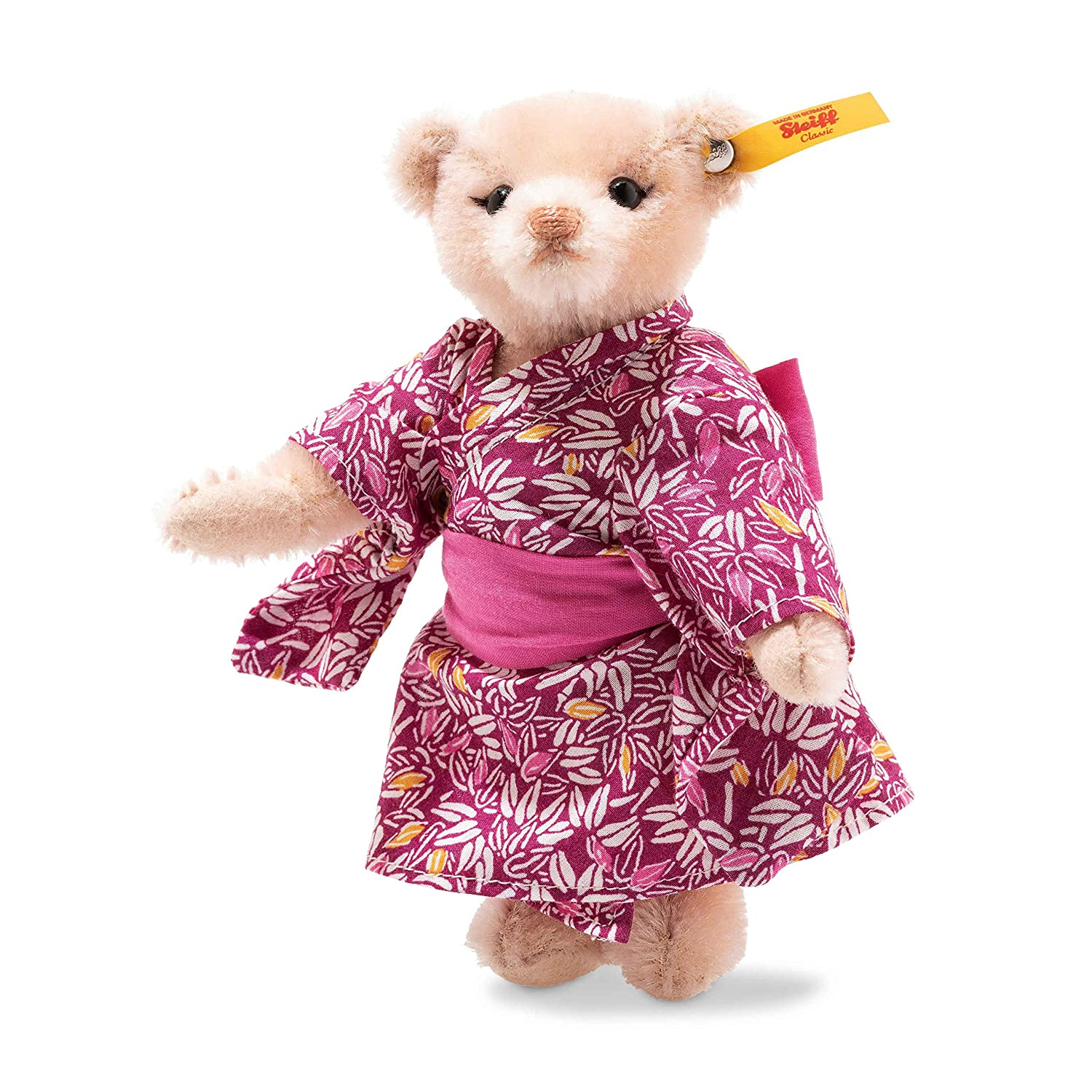 Steiff Great Escapes Tokyo Teddy Bear in Gift Box Pink