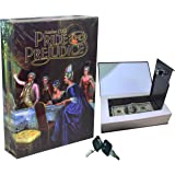 Real Paper Book Locking Booksafe with Key Lock Dictionary Secret Hidden Safe (Pride and Prejudice)