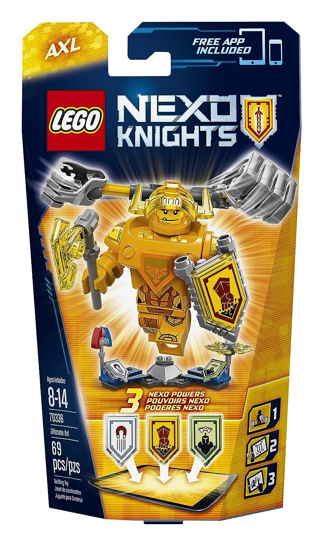 75-Piece LEGO Nexo Knights 70337 Ultimate Lance Building Kit